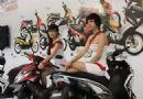 越南雅马哈摩托车新车发布会