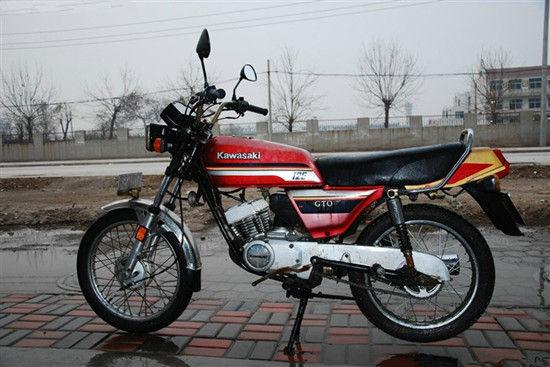 黄河125摩托车电路图