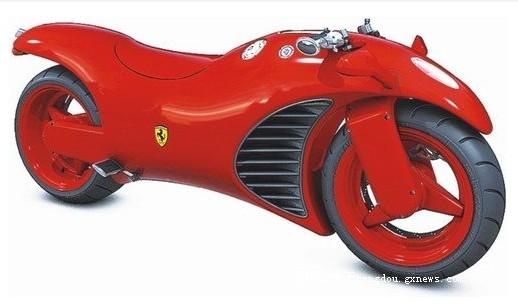 法拉利V4的超级概念摩托车