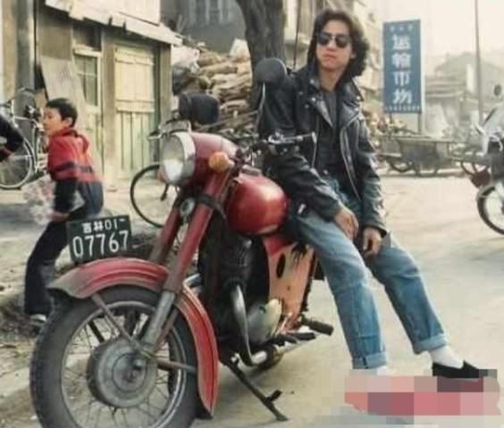 经典:上海残存的幸福牌摩托车