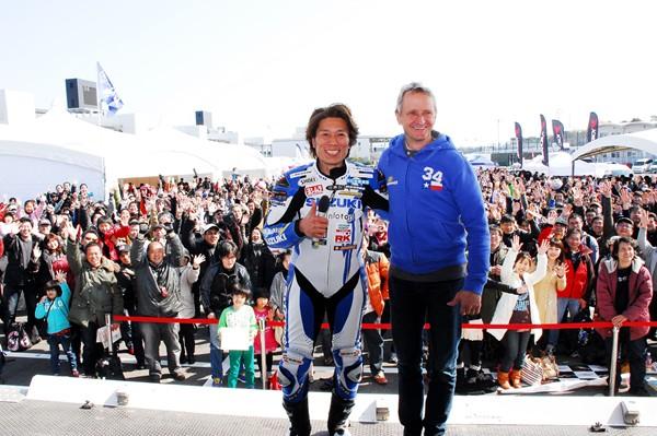 舒华斯将参加今年的铃鹿八小时耐力赛