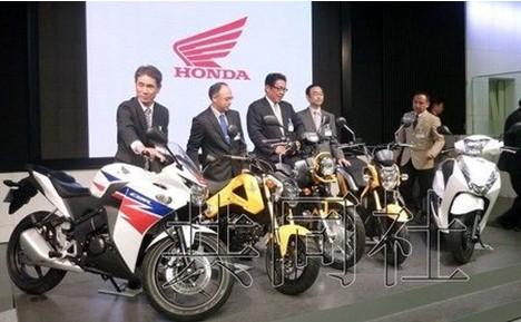 本田将推出小型摩托车瞄准年轻用户