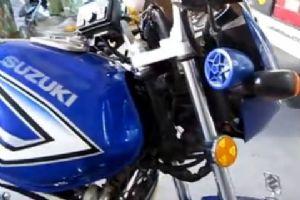 豪爵铃木EN125摩托改装