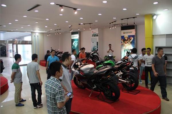 钱江摩托第三期大排量摩托车服务技能培训