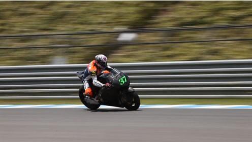 HRC在本土对量产版的MotoGP机器进行测试