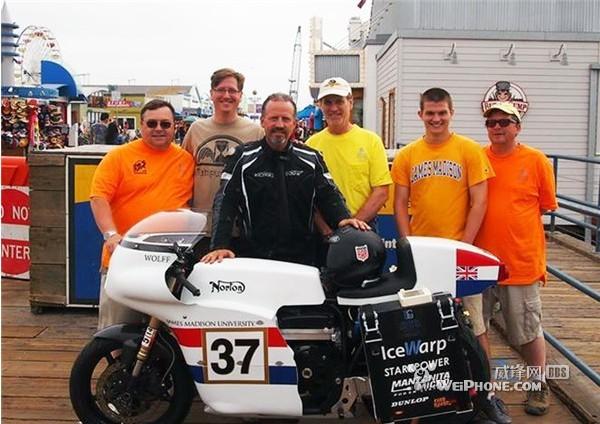 3天环游美国电动摩托车创世界纪录