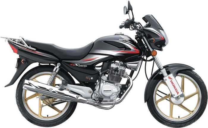 新大洲本田弯梁摩托车 新大洲本田125排量,欧3标准的摩托车多少钱 金
