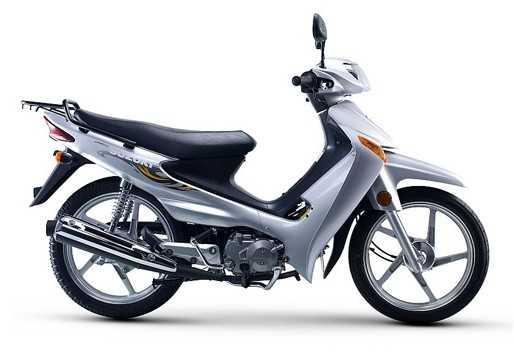 轻骑铃木 赛驰 fd110s摩托车
