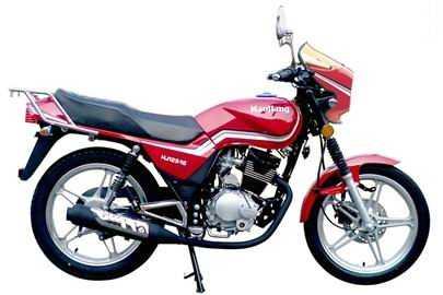 豪江铃木王一代HJ125-16(红一代)