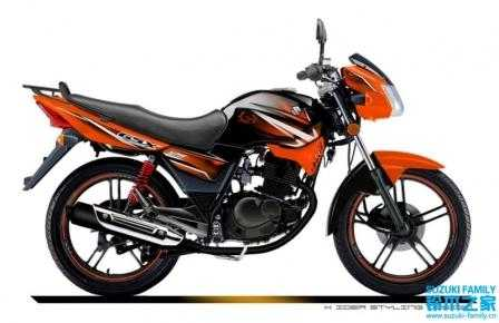 供应轻骑铃木 骏威gsx125二轮摩托车