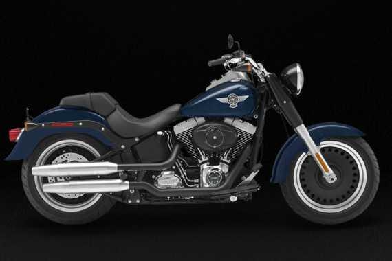 哈雷 Harley-Davidson肥仔定制Fat Boy® Special