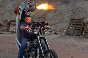 自制 Dragon Fire 摩托车