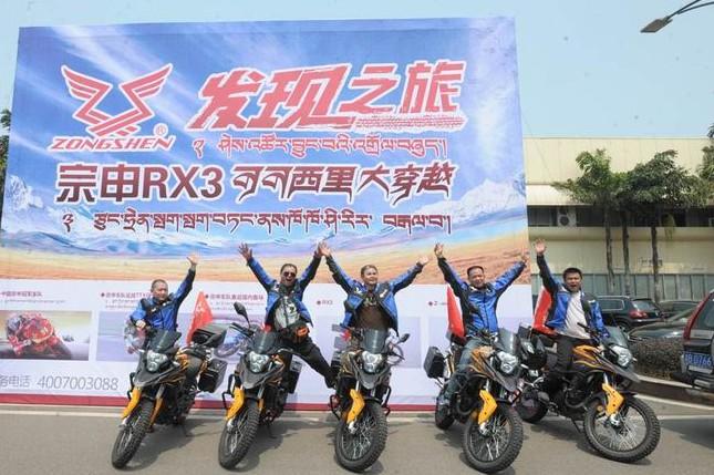 宗申RX3穿越可可西里4000公里侧记