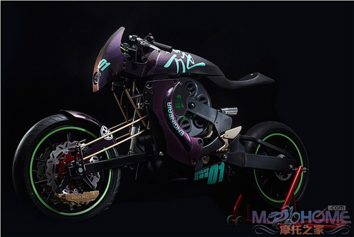 超炫的概念摩托车