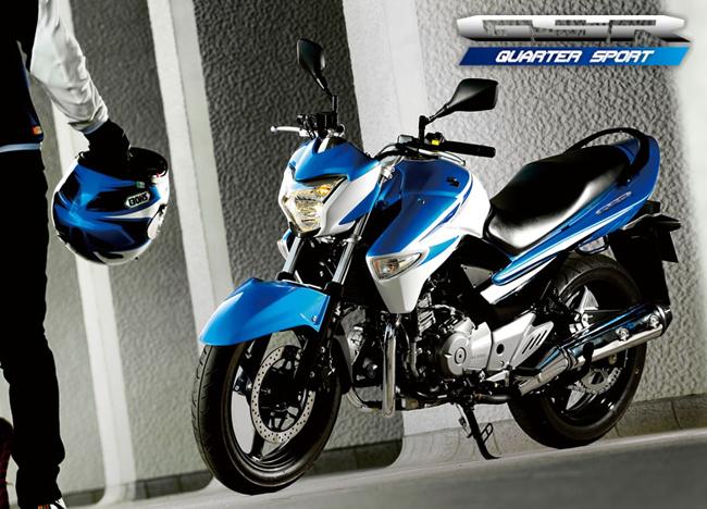 Suzuki向本土发布新图案的GSR250