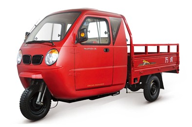万虎三轮 透明红WH200ZH-3A