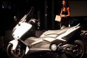 2012 Yamaha TMAX launch World Premia event
