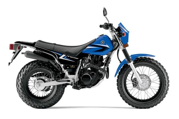 新图案:Yamaha2014'TW200美国版