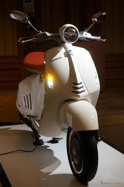 比亚乔日本发售新一代摩托车Vespa946