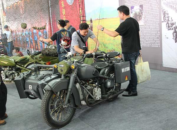 2013中国(江门)摩托车工业博览会时尚展品展