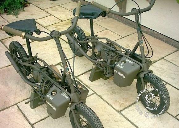 二战中的军用踏板车welbike