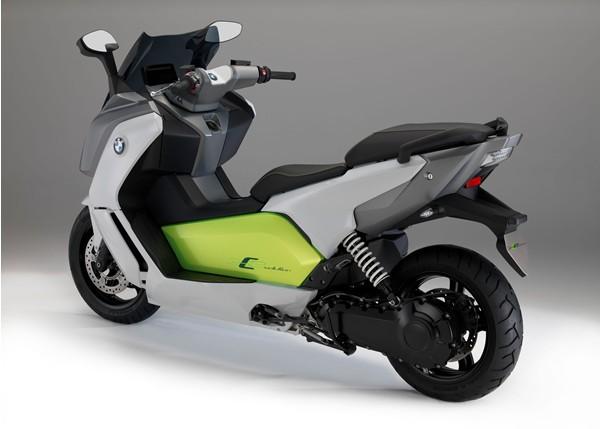"""BMW发布新改良的C""""进化""""电动踏板"""