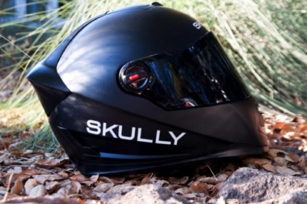 带GPS和摄像头的摩托车头盔
