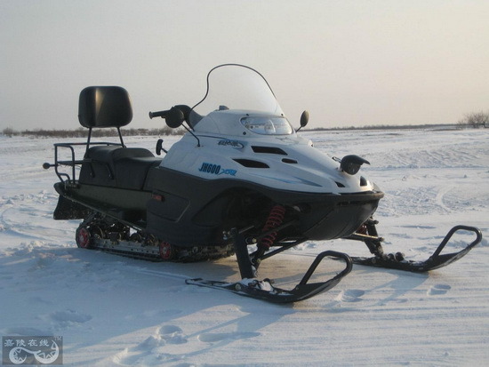 国内首款大排量摩托雪橇嘉陵极地狼JH600XQ