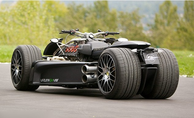 法国推出最快四轮摩托车价值160万