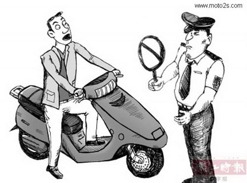 摩托车驾照考试流程和技巧