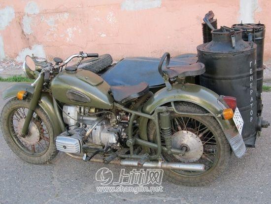 俄罗斯的乌拉尔摩托车