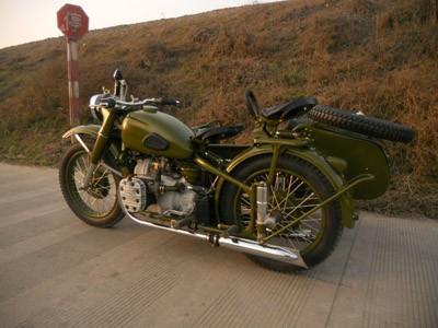 复古宝马摩托车背后的故事