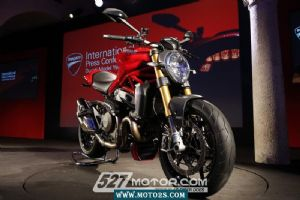 Monster 1200米兰车展 杜卡迪Monster 1200/S(22张)