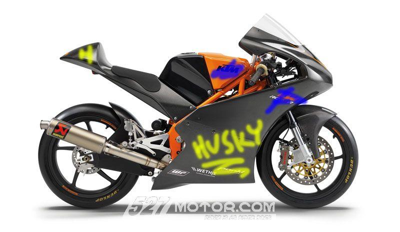 Husqvarna将用KTM赛车参加Moto3比赛