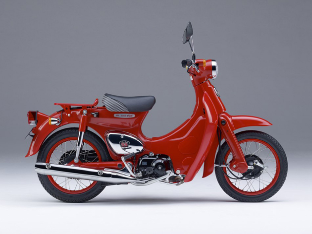世界国民车 Honda Little Cub 55 周年限定纪念版