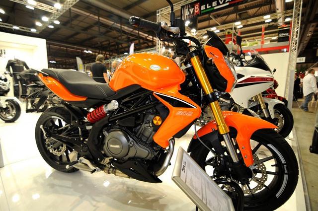 2013米兰国际摩托车展览会钱江精彩第二波