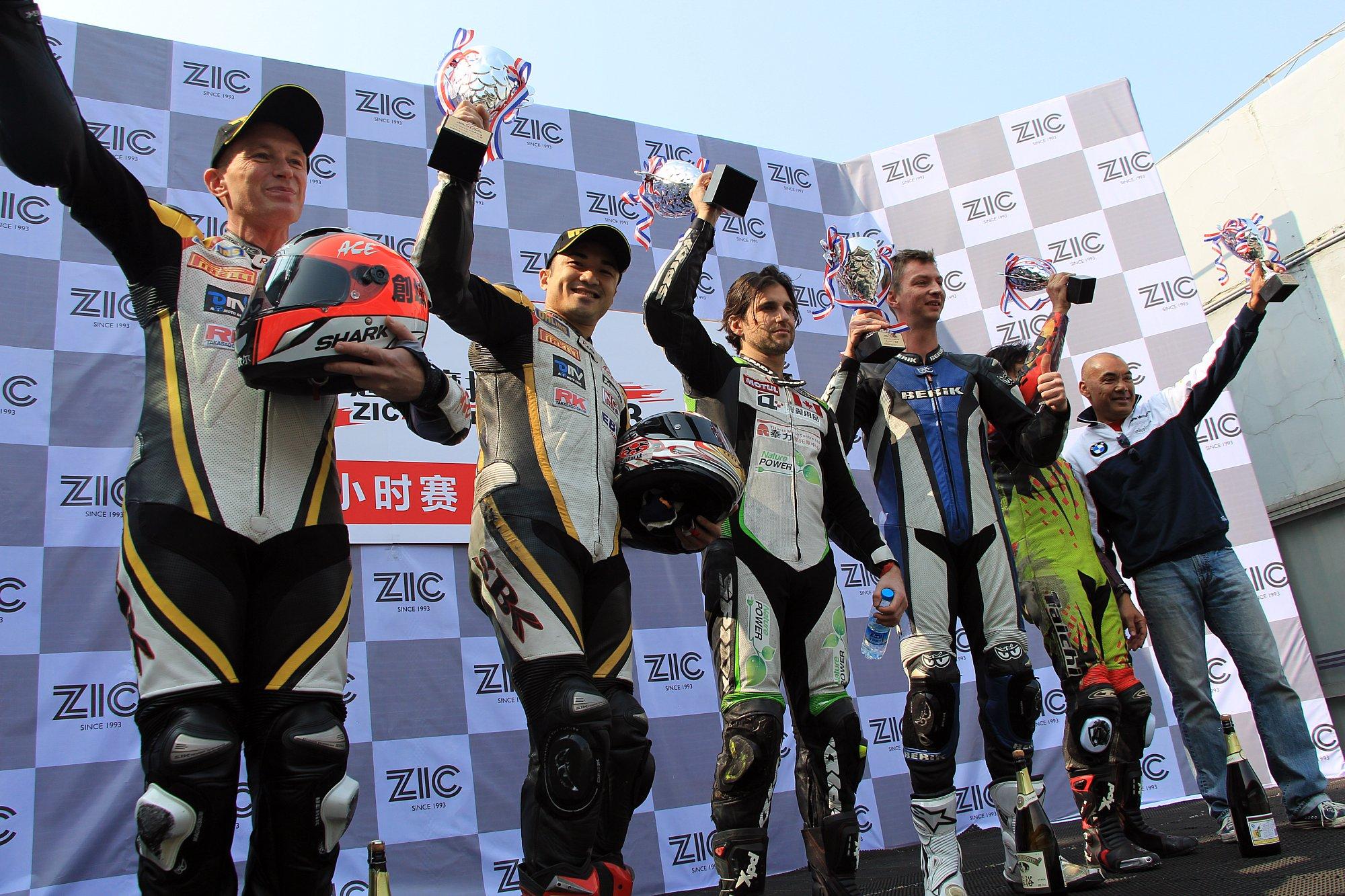ZIC超级摩托车3小时大赛昨在珠海举行