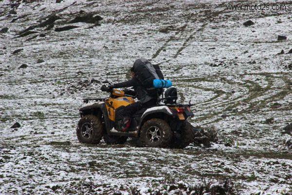 春风成功穿越海拔2600多米原始森林无人区