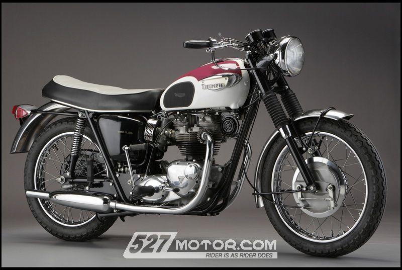 恋上复古摩托Triumph机车卷土而来