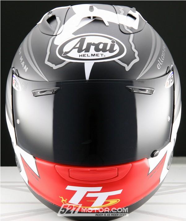 arai推出2014款曼岛tt版rx-7头盔