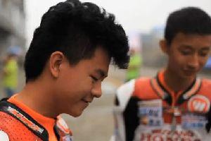 2013CRRC全国公路摩托车锦标赛成都站五羊本田车队获冠军