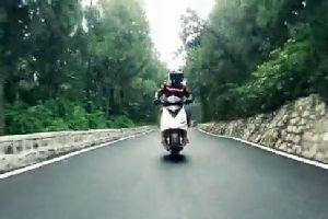 体验速度与激情 标致摩托SPEEDFIGHT 3