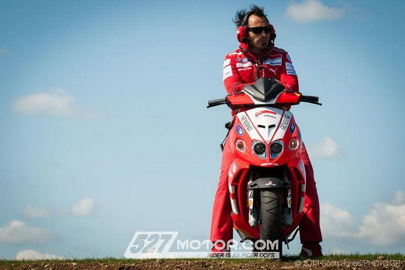 Ducati或将2014年进入踏板军团争夺