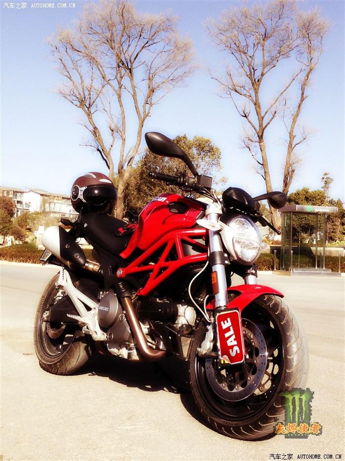 终于迎来梦中的摩托杜卡迪Monster795
