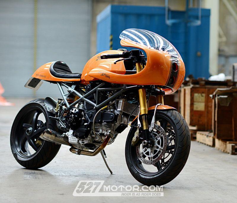 """体验""""咖啡""""的乐趣DucatiCafeRacer非正统改装"""