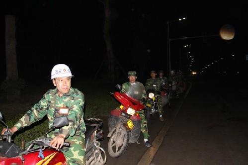 江津成立摩托车队义务巡逻