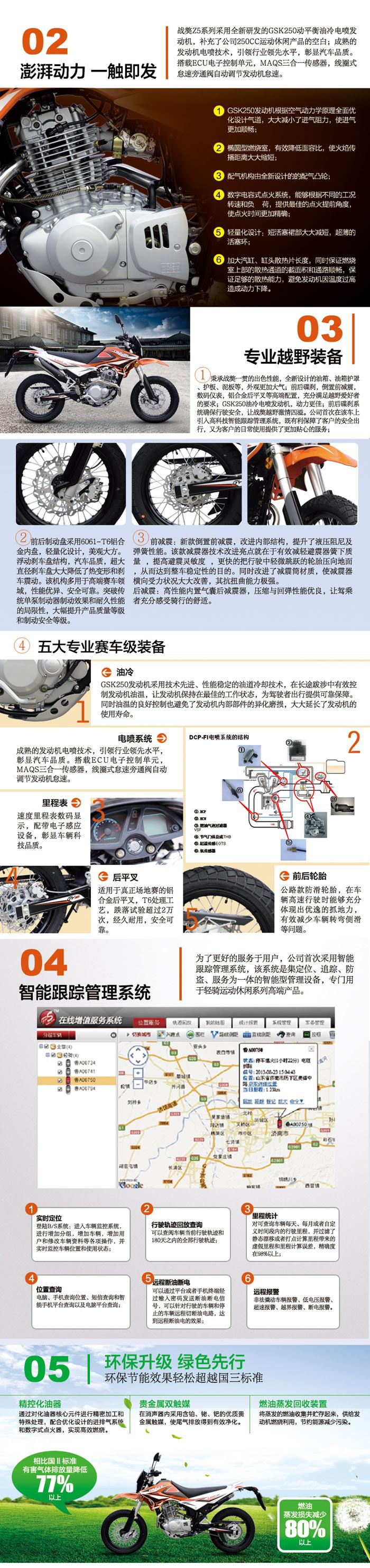 生为征服轻骑越野摩托车战獒Z5