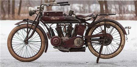 4辆珍稀印度古董摩托车即将拍卖