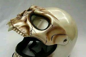 这头盔你敢戴吗