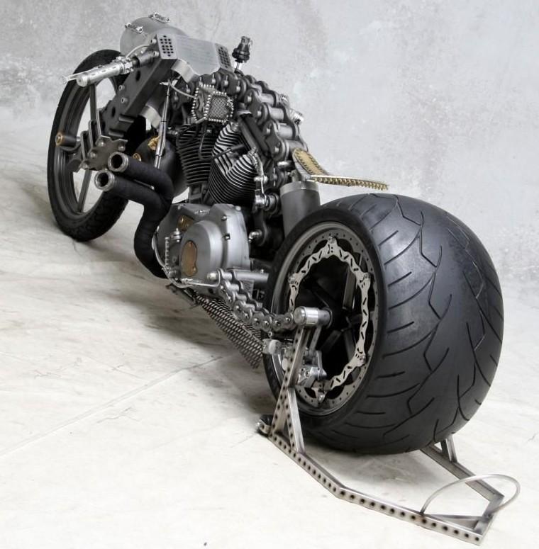 Ǿ�式的风格 Rk定制概念摩托车 lj�摩网